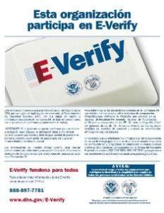 E-Verify Spanish